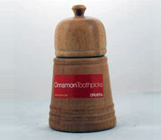 Cinnamon Toothpick Holder
